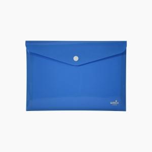 Umix - Umix Çıtçıtlı A4 Zarf Dosya Mavi 8054