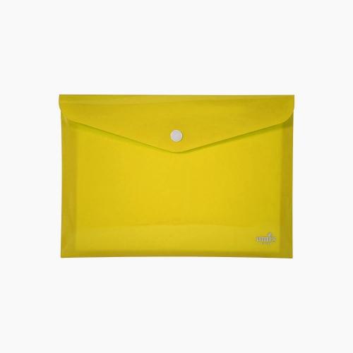 Umix Çıtçıtlı A4 Zarf Dosya Sarı 8085