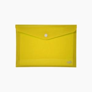 Umix - Umix Çıtçıtlı A4 Zarf Dosya Sarı 8085