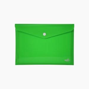 Umix - Umix Çıtçıtlı A4 Zarf Dosya Yeşil 8061