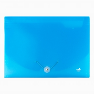 Umix - Umix Neon Körüklü Evrak Dosyası A4 Mavi U1126P-MA 9135