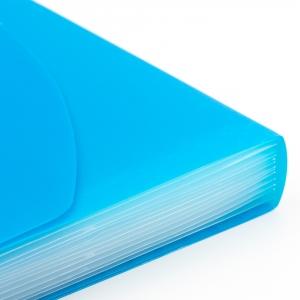 Umix Neon Körüklü Evrak Dosyası A4 Mavi U1126P-MA 9135 - Thumbnail