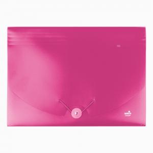 Umix - Umix Neon Körüklü Evrak Dosyası A4 Pembe U1126P-PE 9159