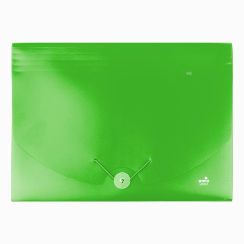 Umix Neon Körüklü Evrak Dosyası A4 Yeşil U1126P-7E 9128