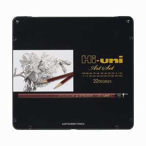 Uni - Uni Hi-uni Art Set 22 Derece Çizim Seti 0898