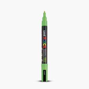 Uni - Uni POSCA 0.9-1.3mm Boyama Markörü PC-3M Elma Yeşili 6808