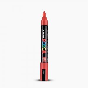 Uni - Uni POSCA 1.8-2.5mm Boyama Markörü PC-5M Kırmızı 6131