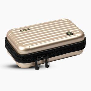U.S. POLO Assn. Metalik Gold Kalem Çantası UA23384106 9846 - Thumbnail