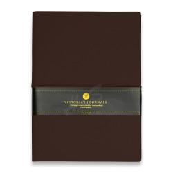 Victoria's Journals - Victoria's Journal Bullet Journal Dot (Noktalı) Defter Kahverengi