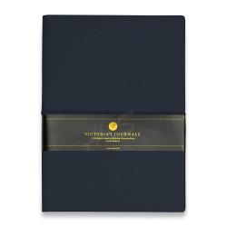 Victorias Journals - Victoria's Journal Bullet Journal Dot (Noktalı) Defter Lacivert