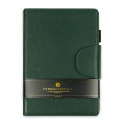 Victoria's Journals - Victoria's Journals Executive Yeşil 14x20 cm Çizgili Defter