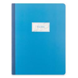 Victoria's Journals - Victoria's Journals Mavi Sarta Pastel 19X25cm 48 Yaprak Çizgili Defter 1240