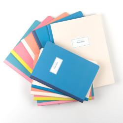 Victorias Journals - Victoria's Journals Mavi Sarta Pastel 19X25cm 48 Yaprak Çizgili Defter 1240 (1)