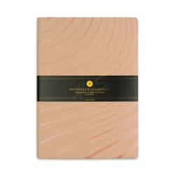 Victoria's Journals - Victoria's Journals Foil 14x20 cm Çizgili Defter Pembe Sinyaller