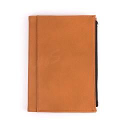 Victoria's Journals - Victoria's Journal Zipco Cepli 14X20 cm Defter Çizgili Camel