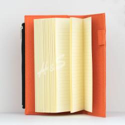 Victorias Journals - Victoria's Journal Zipco Cepli Bloknot Çizgili Hardal 1479 (1)