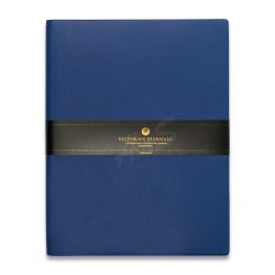 Victoria's Journals - Victoria's Journal Lacivert 19X25 cm 96 Yaprak Çizgili Defter