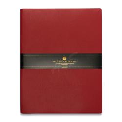 Victoria's Journals - Victoria's Journals Kırmızı 19X25 cm 96 Yaprak Çizgili Defter