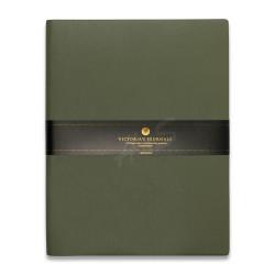 Victoria's Journals - Victoria's Journal Yeşil 19X25 cm 96 Yaprak Çizgili Defter