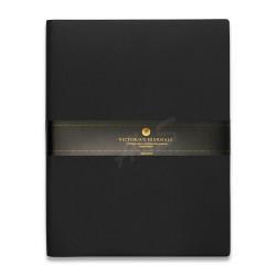 Victoria's Journals - Victoria's Journal Siyah 19X25 cm 96 Yaprak Çizgili Defter