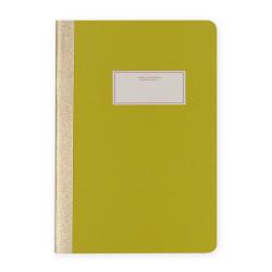 Victoria's Journals - Victoria's Journals Fıstık Yeşili 14x20 cm 56 Yaprak Çizgili Defter