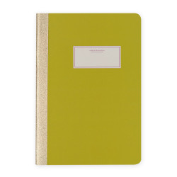 Victoria's Journals - Victoria's Journals Taylor Colori Fıstık Yeşili 14x20 cm 56 Yaprak Çizgili Defter 1104