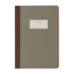 Victoria's Journals - Victoria's Journal Taylor Colori Mat Yeşil 14x20 cm 112 Sayfa Yaprak Çizgili Defter 1104