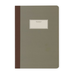 Victorias Journals - Victoria's Journal Taylor Colori Mat Yeşil 14x20 cm 112 Sayfa Yaprak Çizgili Defter 1104