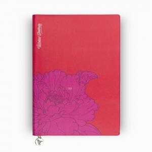 Victorias Journals - Victoria′s Journals Iris Smyth A5 Dot (Noktalı) Defter Kırmızı 4011
