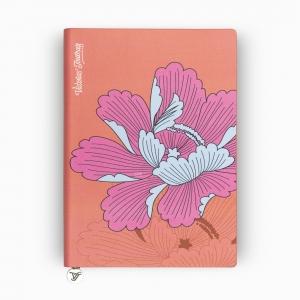 Victoria's Journals Iris Smyth A5 Dot (Noktalı) Defter Turuncu 4011 - Thumbnail