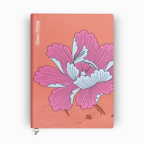 Victoria's Journals Iris Smyth A5 Dot (Noktalı) Defter Turuncu 4011