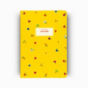 Victoria's Journals Mini Flowers A5 Dot (Noktalı) Defter Sarı 4233 - Thumbnail
