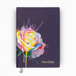 Victorias Journals - Victoria′s Journals Rose Smyth A5 Çizgili Defter Mor 3977