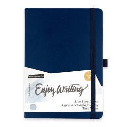 Victoria's Journals - Victorias Journals A5 Enjoy Writing Çizgili Defter Lacivert
