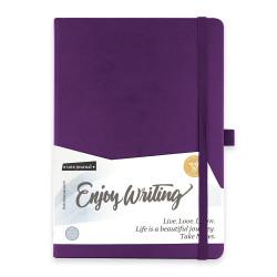 Victoria's Journals - Victorias Journals A5 Enjoy Writing Çizgili Defter Mor