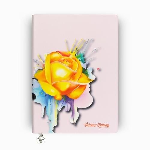 Victoria's Journals Rose Smyth A5 Çizgili Defter Pembe 3977