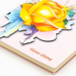 Victoria's Journals Rose Smyth A5 Çizgili Defter Pembe 3977 - Thumbnail