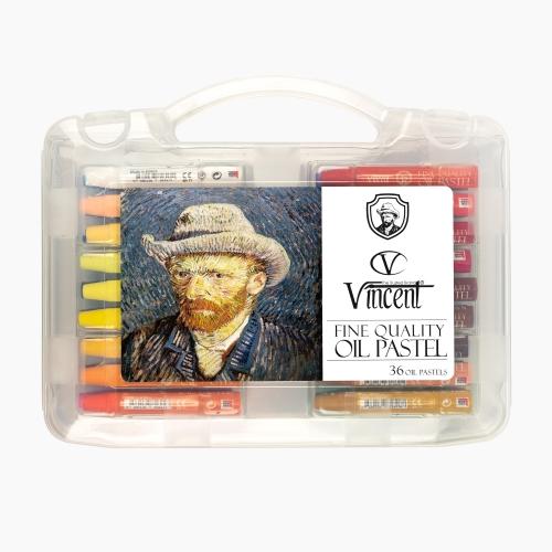 Vincent 36 Renk Yağlı Pastel Boya 6865