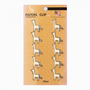 H&S - Vintage 10'lu Giraffe Ataş Seti 0315