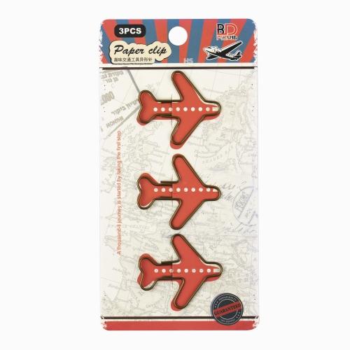 Vintage 3'lü Plane Ataş Seti 0308