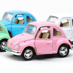 """Volkswagen - Volkswagen 1967 Classical Beetle 4"""" Die Cast Metal Çek Bırak Araba (Volkswagen Official Licensed Product) (1)"""