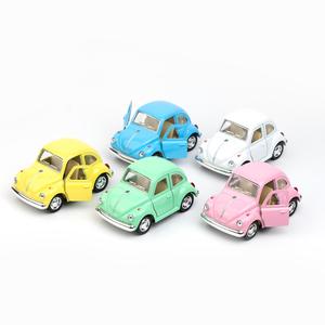 """Volkswagen - Volkswagen 1967 Classical Beetle 4"""" Die Cast Metal Çek Bırak Araba (Volkswagen Official Licensed Product)"""