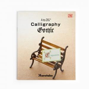 Zig Kuretake - ZIG Calligraphy Gothic Kitap (İngilizce) 1640