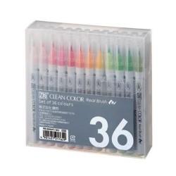 Zig Kuretake - Zig Clean Color Real Brush 36'lı Set