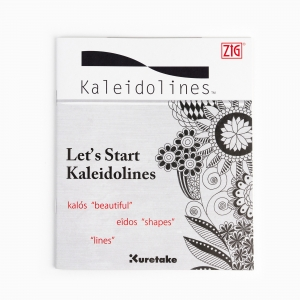 Zig Kuretake - ZIG Kaledolines Kitap (İngilizce) 2759