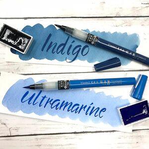 ZIG KURETAKE Cambio Tambien 6 Renk Large Tip Brush Kalem Set A 5364 - Thumbnail