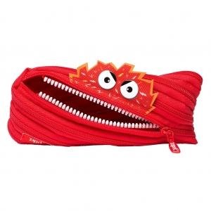 Zıpıt - Zıpıt Talking Monstar Kalem Çantası Kırmızı 4002